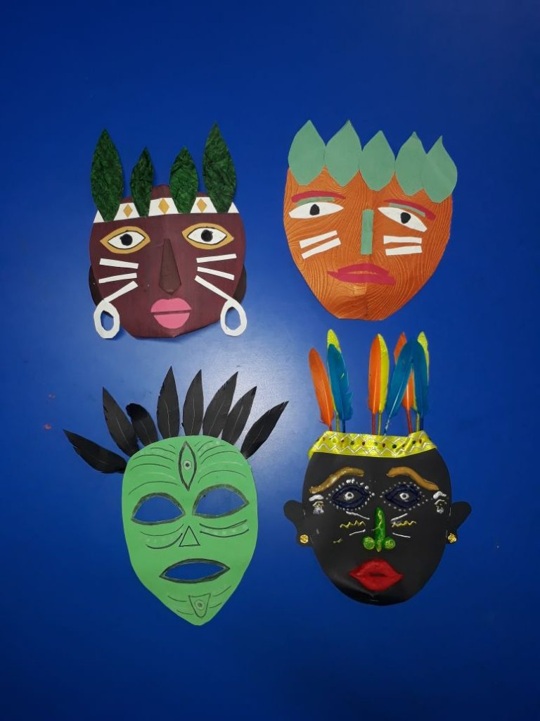 Mask Making - Student creativity (1)
