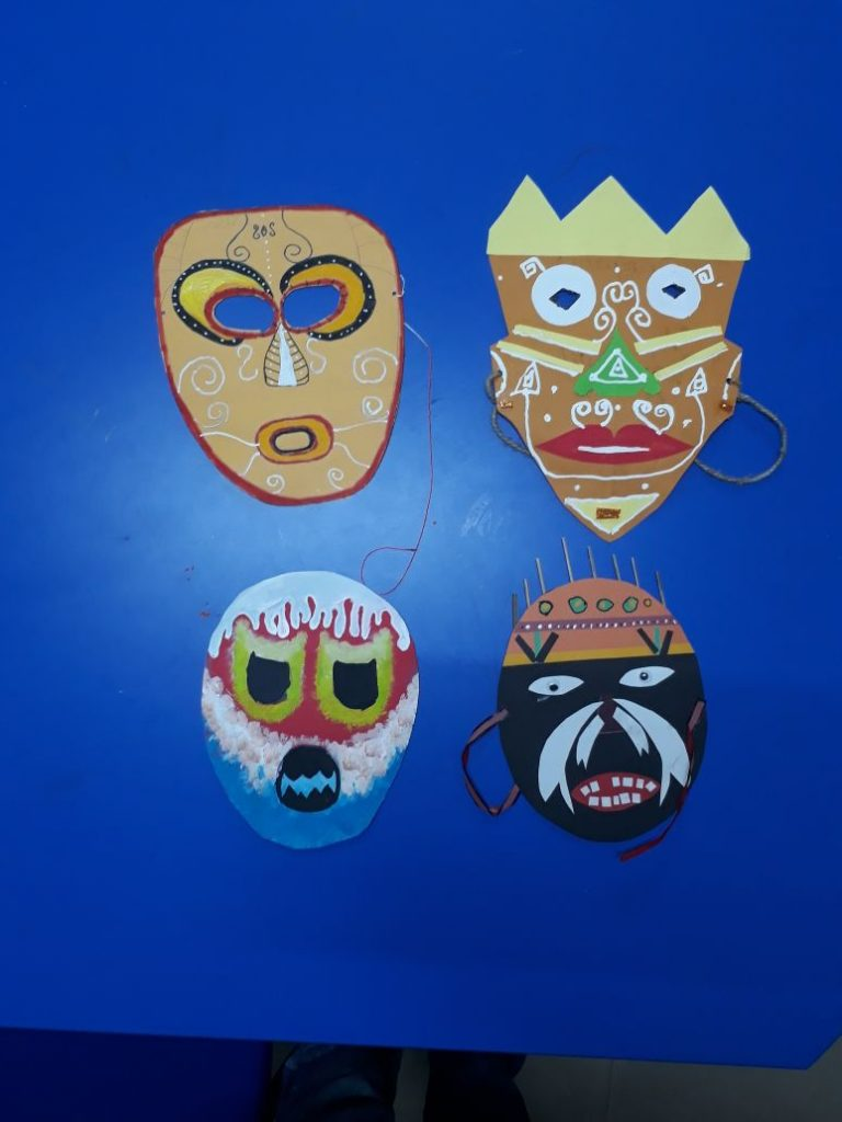 Mask Making - Student creativity (2)