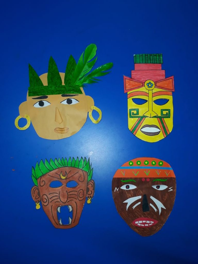 Mask Making - Student creativity (3)