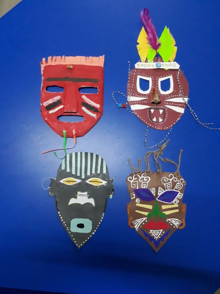 Mask Making - Student creativity (4)