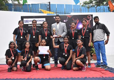 3rd Inter School Basket Ball Tournament -Shooting Hoops