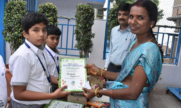 Inter School Recycling Championship -WOW