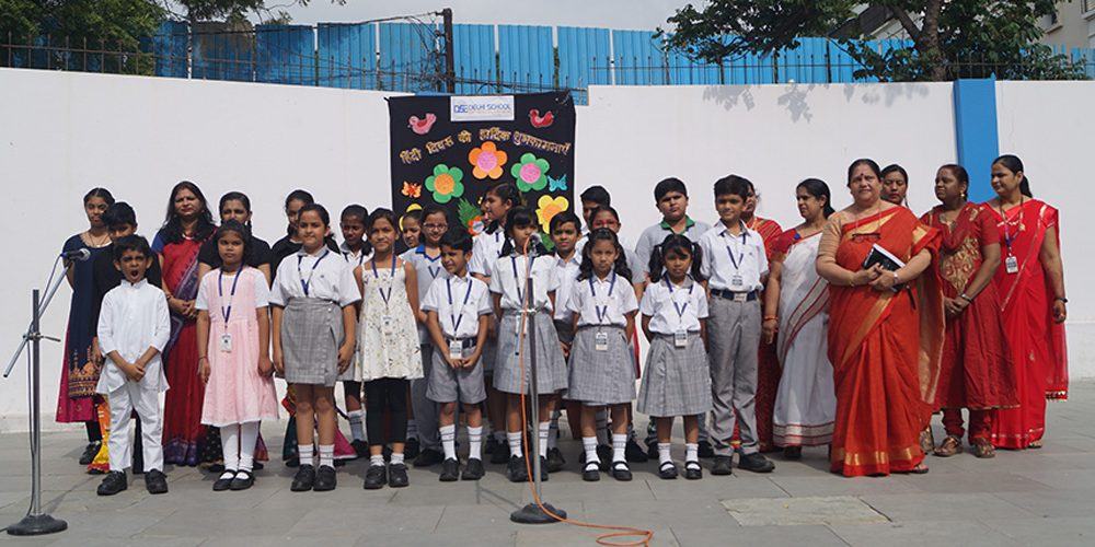 Hindi Diwas Celebrations -Special Assembly