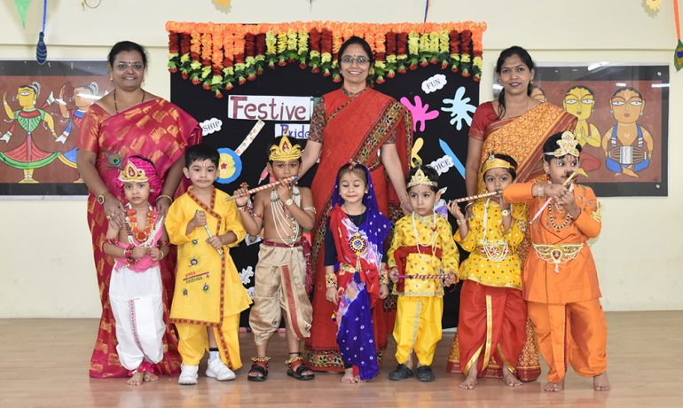 Preprimary -Janmasthami Celebrations