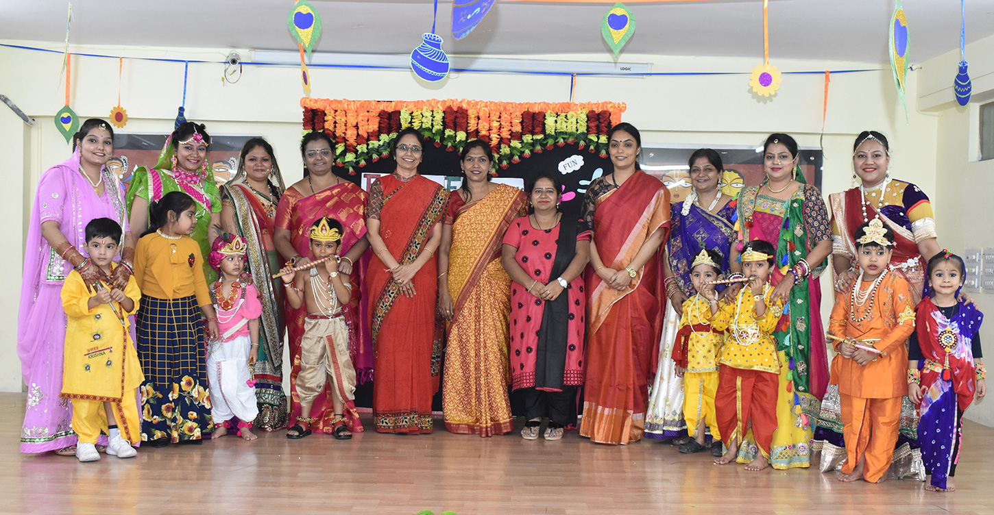 Preprimary--Janmasthami-Celebrations
