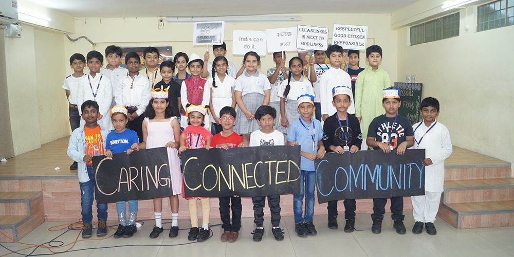 Grade III C - Class Assembly - Mime on Civic Awareness