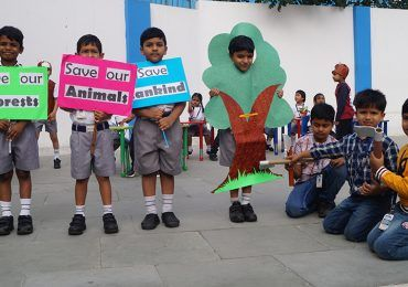 """Grade IC-""""Save Our Forests, Save Our Animals, Save Mankind"""""""