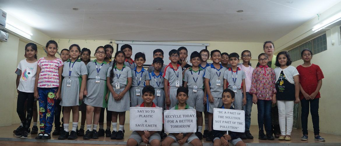 Grade IVB- Class Assembly- Save Earth from Plastic