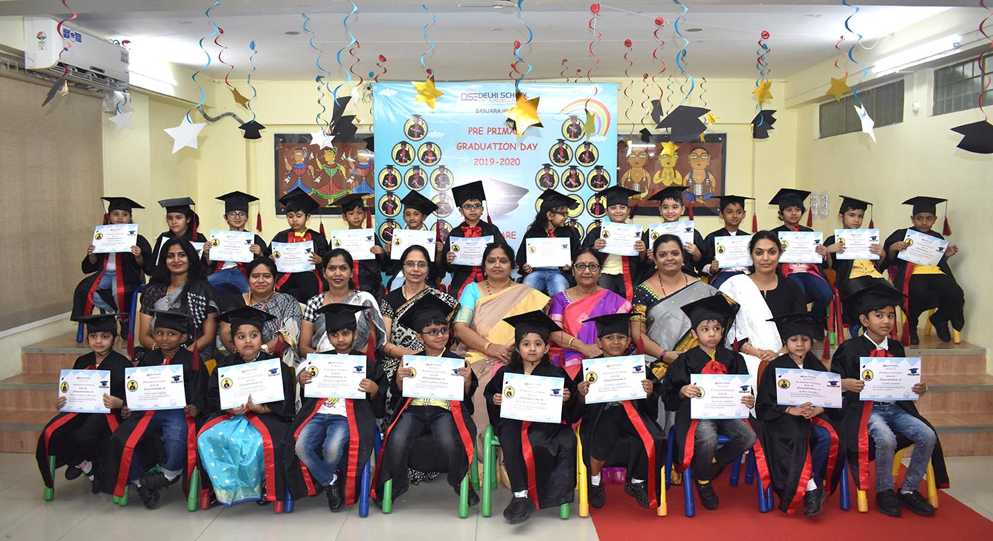Preprimary Graduation Day