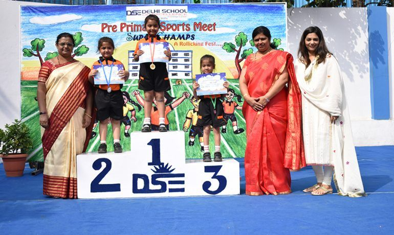 Pre-Primary Sports Meet -Super Champs